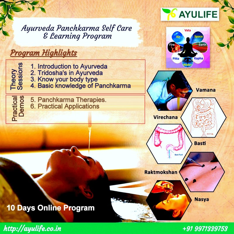 Ayurveda Learning Courses